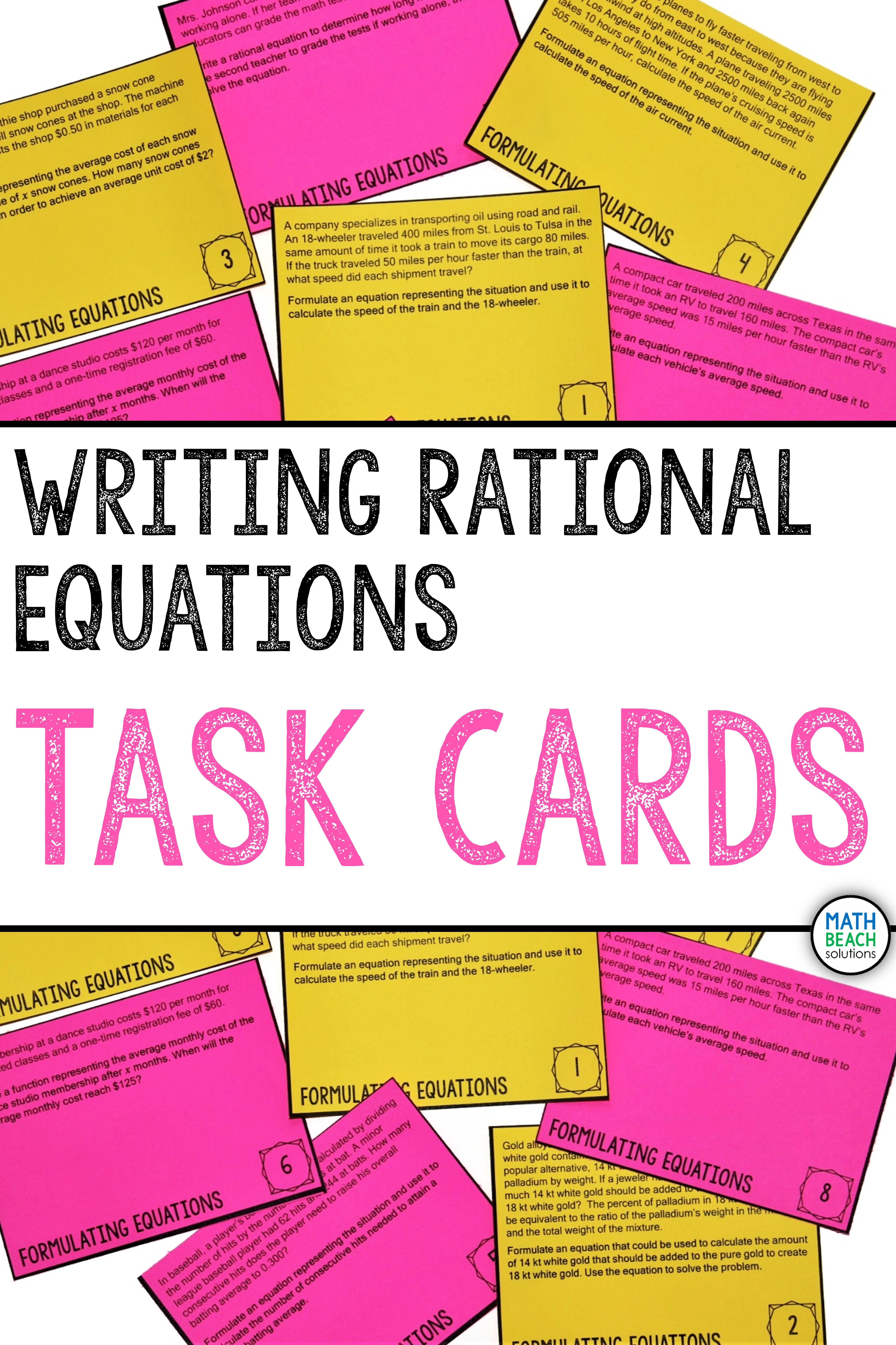 Pin On Writing Equations