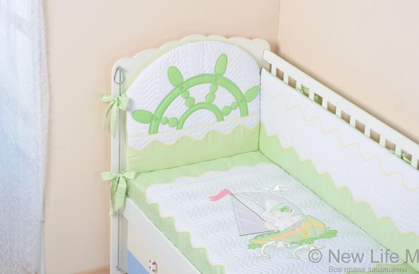 бортики в детскую кроватку своими руками пошагово с фото ...