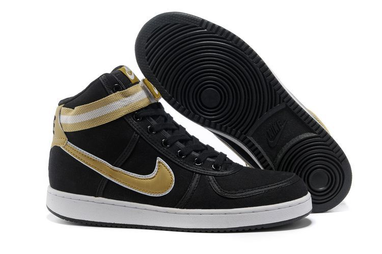 sports shoes 69b10 176a5 ... NIKE VANDAL CANVAS HIGH BLACKGOLD SALE 72.63 ...