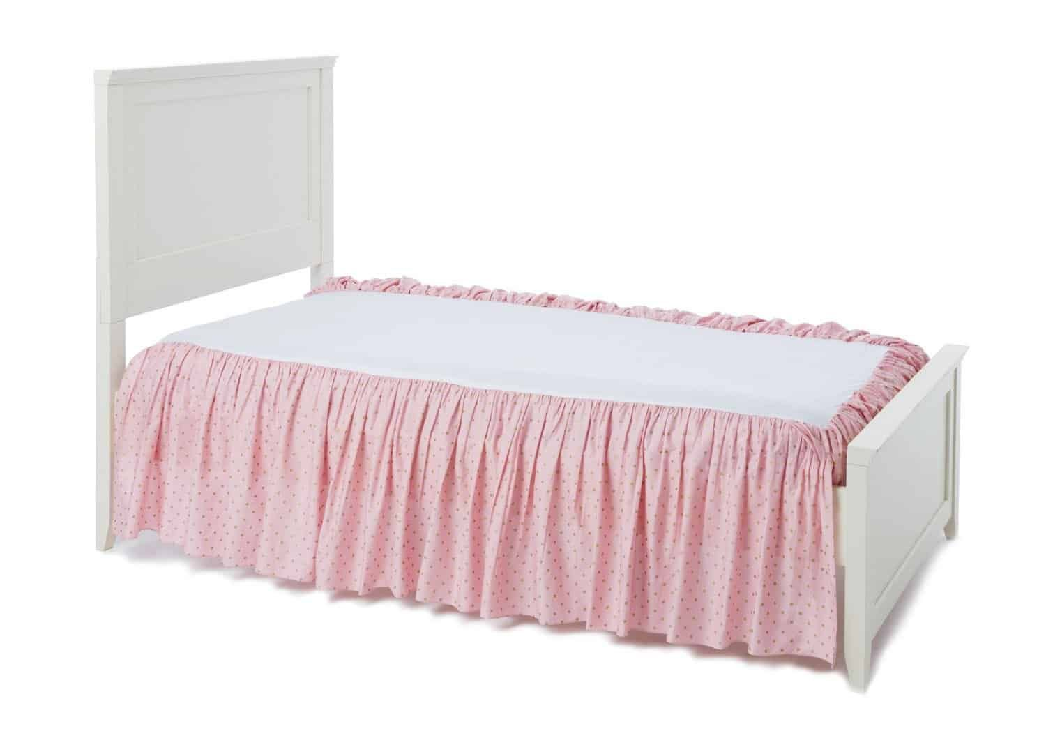 How To Make Bed Skirt For Low Profile Box Spring Gold Bed Bedskirt Bed