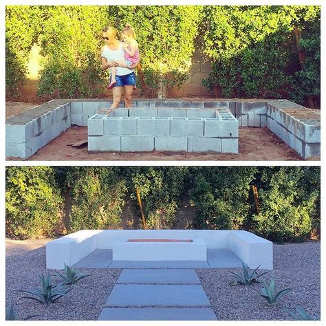 More Ideas Below Diy Square Round Cinder Block Fire Pit How To Make Ideas Simple Easy Backyards Cinder Block Fire Pit Gril Backyard Fire Backyard Outdoor Fire