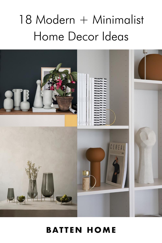 Minimalist room decor: 18 home decor ideas for the minimalist home