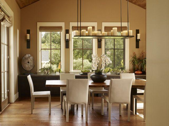 Dinning Room Mirrored Window