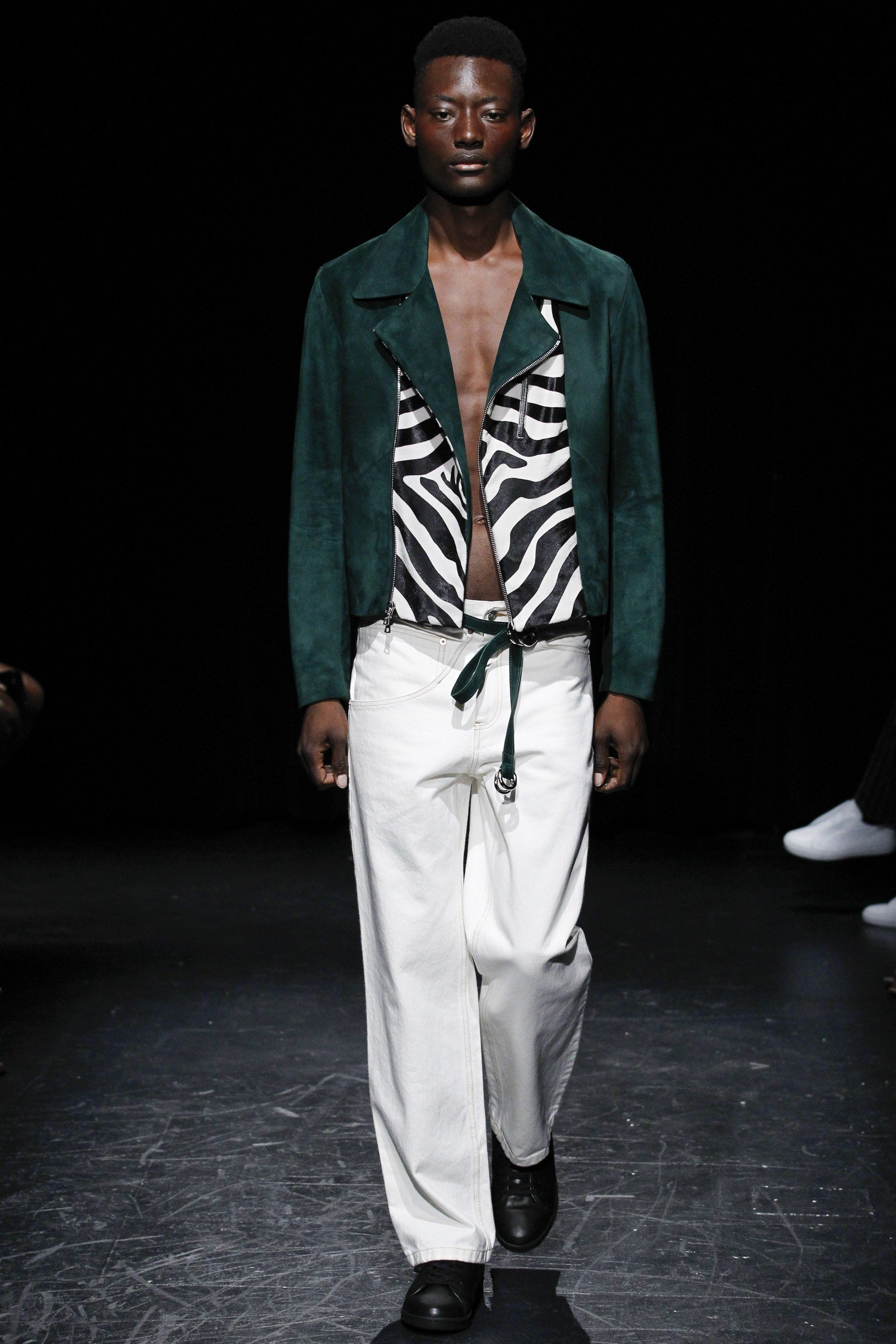 Linder spring menswear fashion show spring man style and