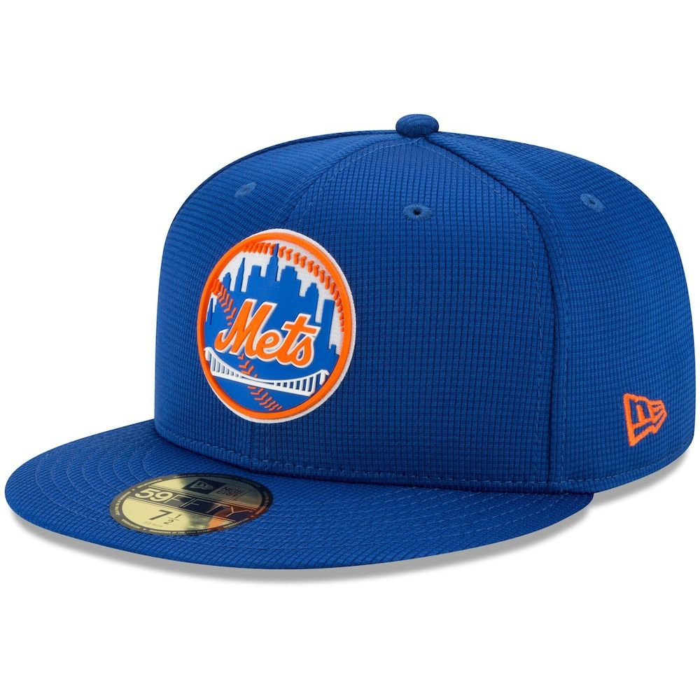 Mens new era royal new york mets clubhouse 59fifty fitted