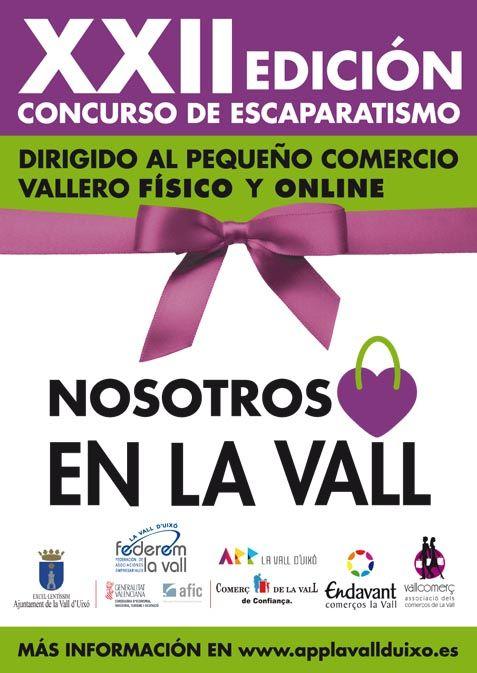 """Concurso de Escaparatismo """"Yo compro en La Vall"""""""
