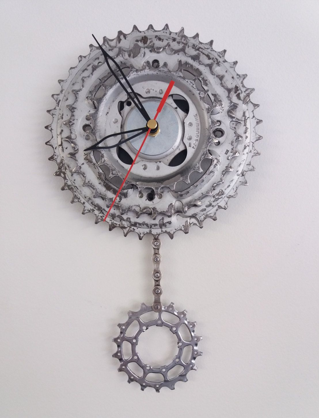 Your Place To Buy And Sell All Things Handmade Bicycle Clock Clock Steampunk Clock
