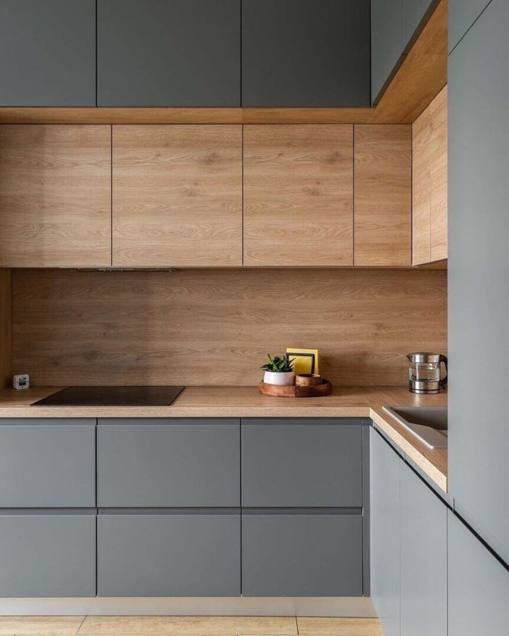 Kitchen With Gray Cabinets: Why To Choose This Tre