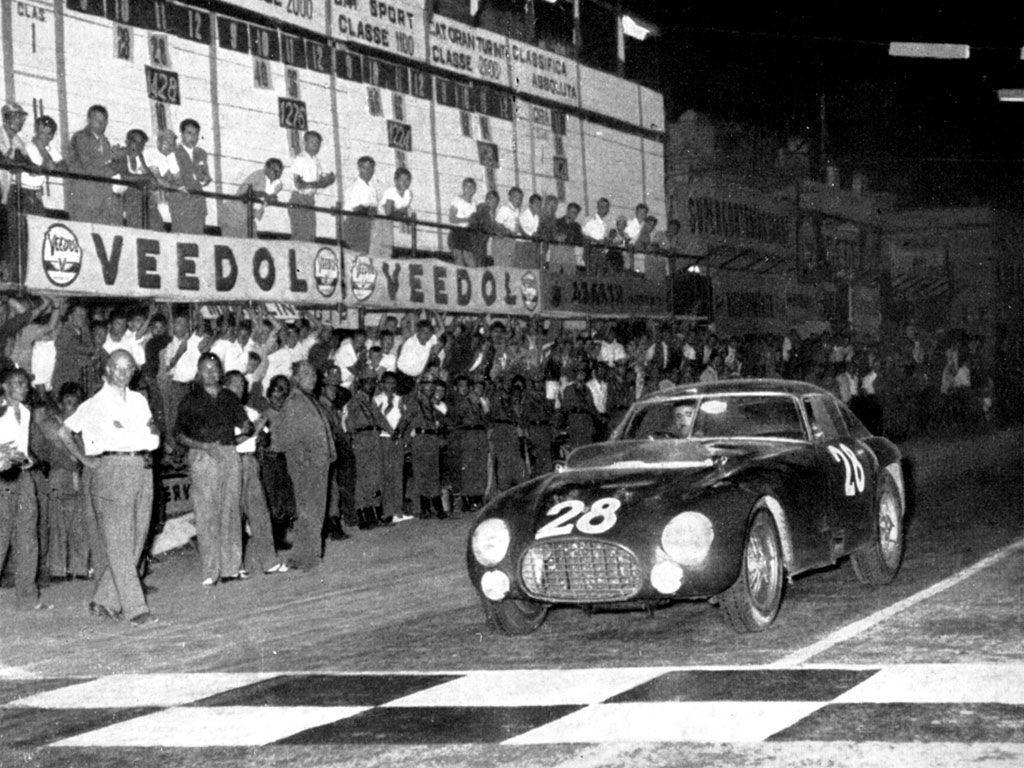 1953 Ferrari 340/375 MM Berlinetta 'Competizione' by Pinin Farina   Arizona 2013   RM AUCTIONS