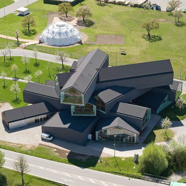 Herzog de meuron archy pinterest architektur - Dekonstruktivismus architektur ...