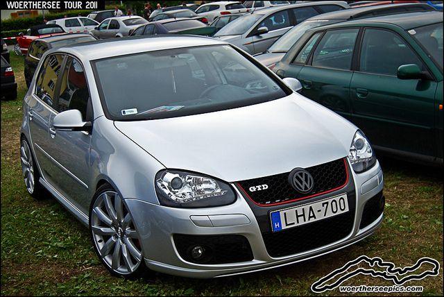 Silver Mk5 Vw Golf Gtd Volkswagen Golf Volkswagen Vw Cars