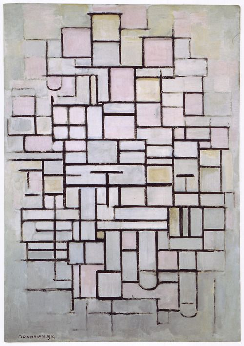 Piet Mondrian, Composition No. IV / Compositie 6, 1914