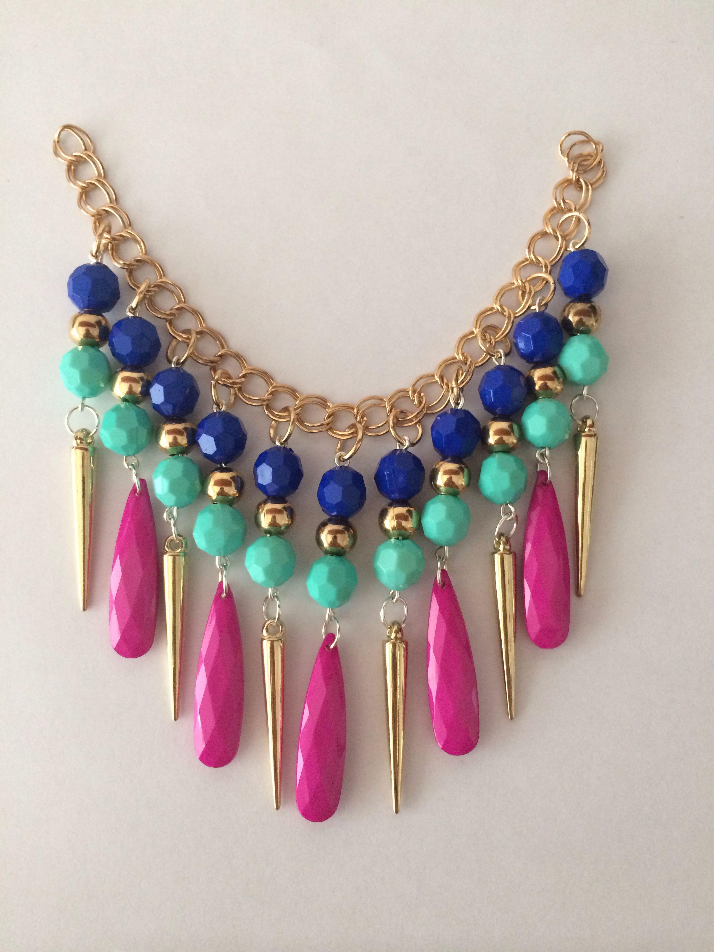 6682a9293dfe Lindo collar colorido❤