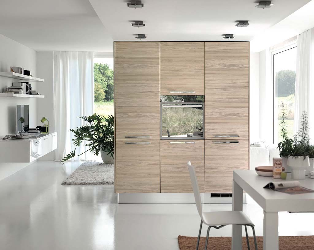 Modern White Wood Kitchen Open Kitchen Design Modern Open Kitchen Design With White Theme