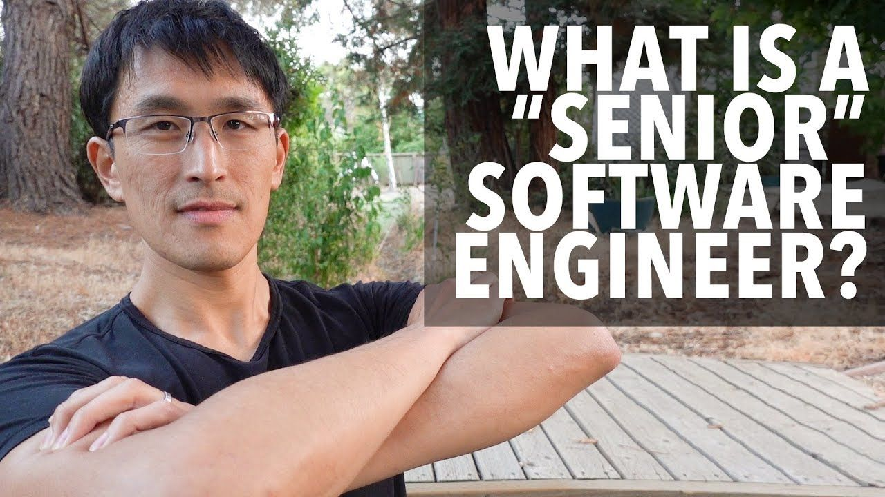 What Is A Senior Software Engineer The Difference Between Junior And Senior Engineers Youtube Software Engineer Engineering Software