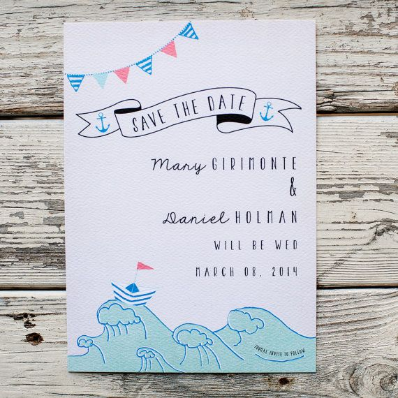 Themed Save the Dates