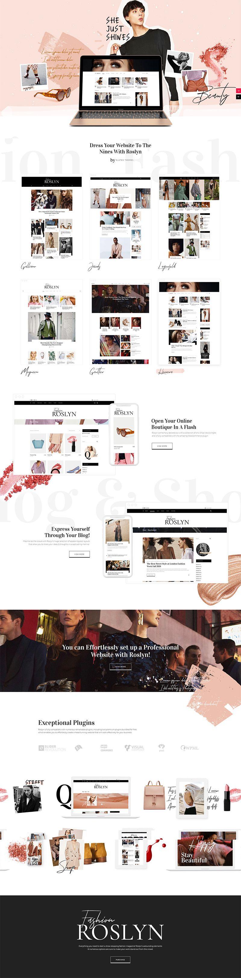 Best 25 Fashion Blog WordPress Themes For 2021 Wpklik Blog Themes WordPress WordPress Design Fashion Blog