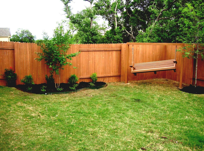 back yard landscaping ideas on a budget kids room kid on backyard garden fence decor ideas id=79689