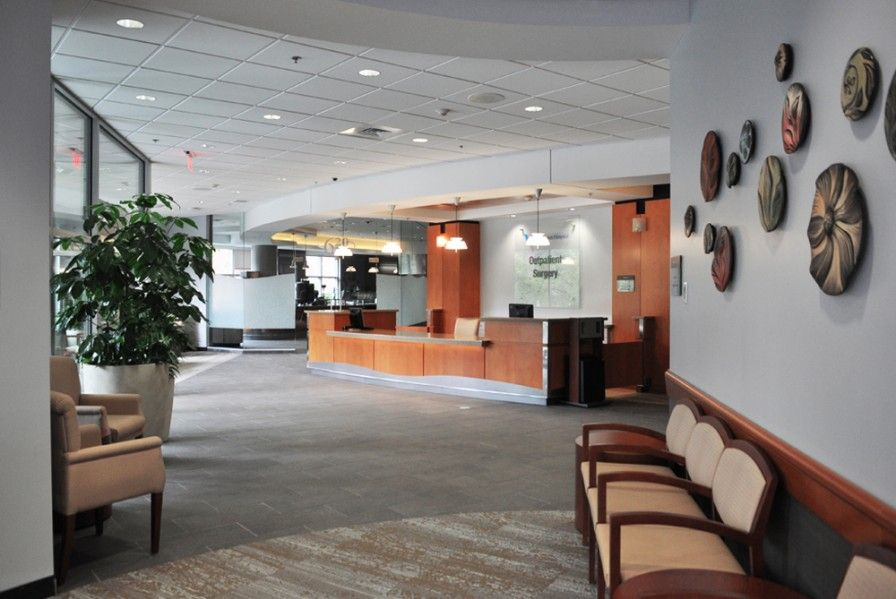 Winchester Hospital Ambulatory Surgery Center Winchester Va Eloquence Side Guest Seating In Lobby Reception Area Nati Hospital Lobby Reception Home Decor