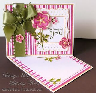 Easy Twisted Easel Card Tutorial