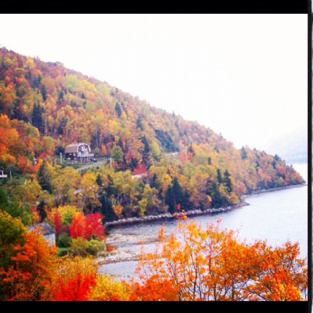 Cape Breton Island in autumn! So beautiful