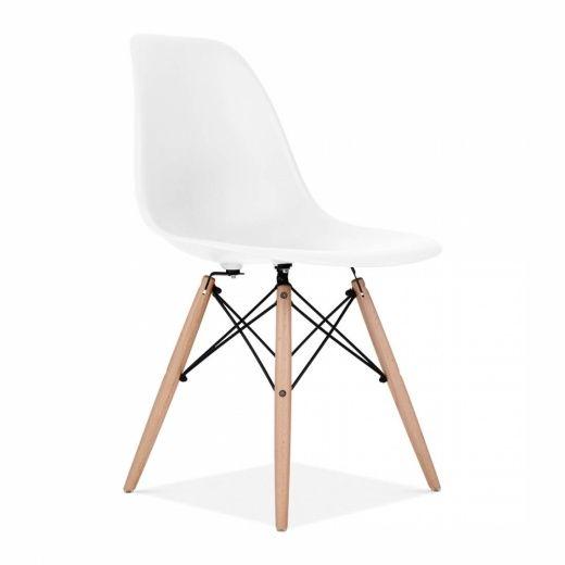 Silla Eames DSW Blanca   Sillas de comedor   Muebles de diseño