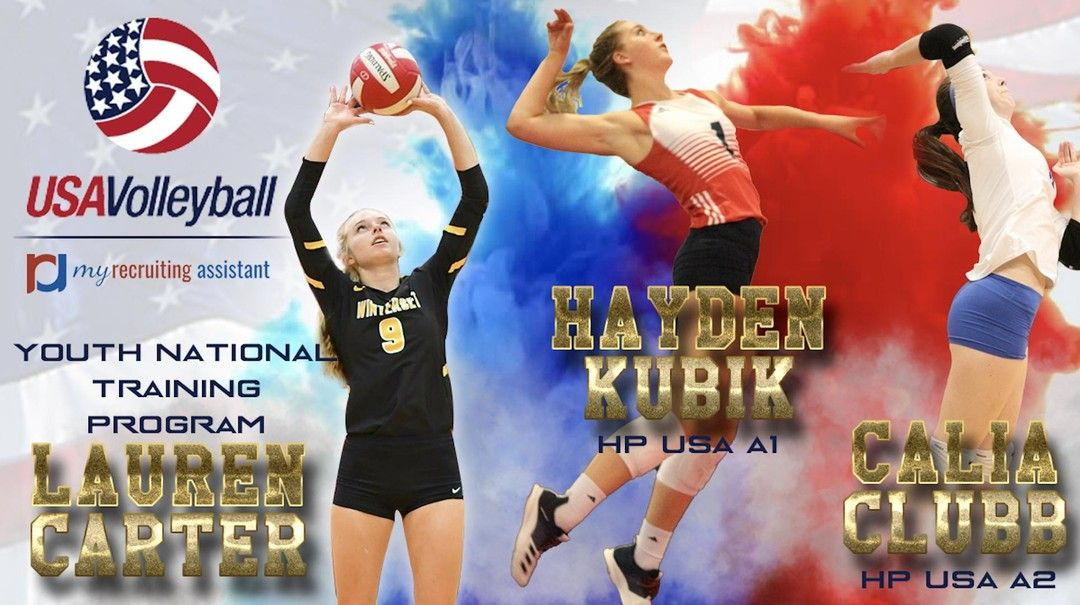 Congrats To Our Class Of 2022 Members Who Made Usa Volleyball High Performance Teams Lauren Carter Club I In 2020 Usa Volleyball Lauren Carter Training Programs