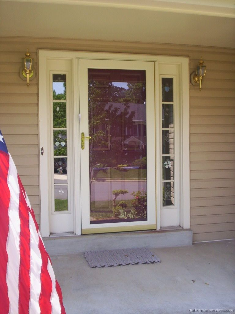 Screen Door For Front Door With Sidelights Shapeyourminds