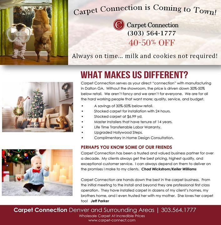 Carpetconnection Denver Newsletter Connection Carpet Social Media Marketing