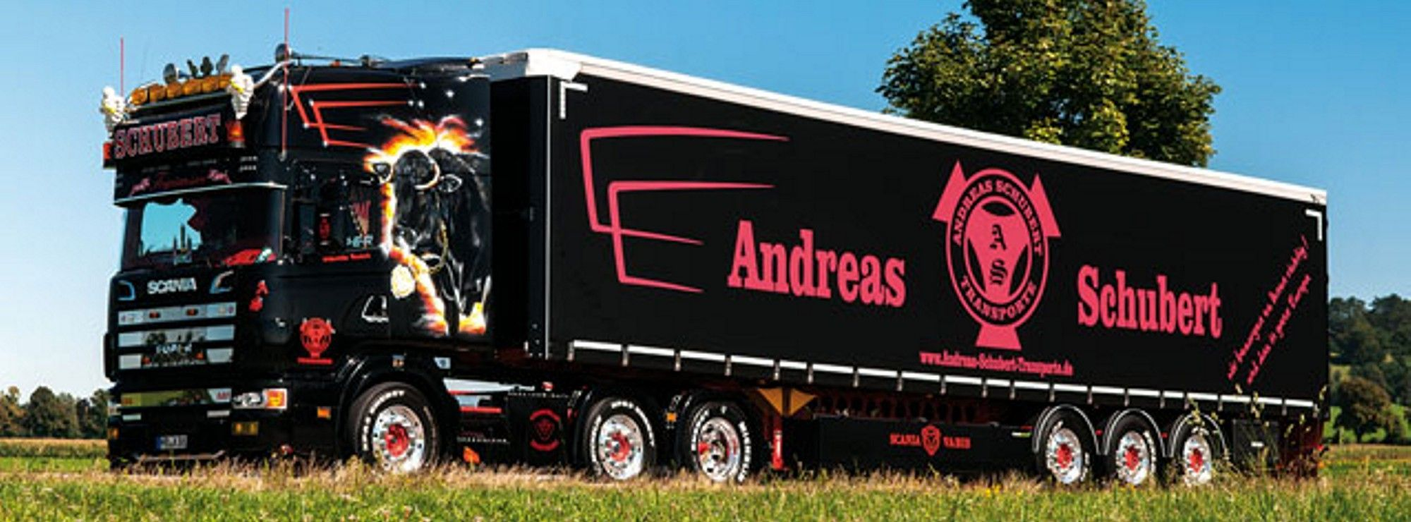 scania andreas schubert tegernsee king of the road trucks lkw pinterest. Black Bedroom Furniture Sets. Home Design Ideas