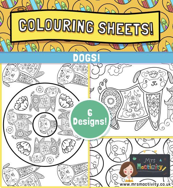 Dog Colouring Pages | Dog coloring page, Coloring pages ...