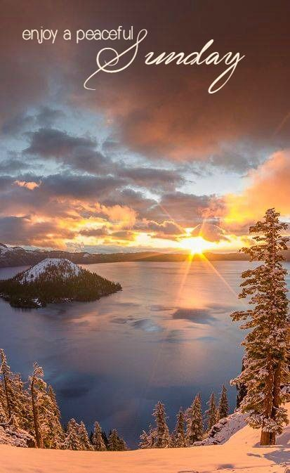 Sunday Sunday Greetings Sunrise Beautiful Nature