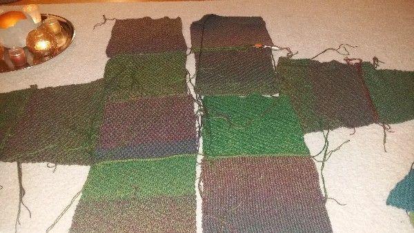 Photo of Quadrate-Jacke aus 12 Einzelteilen – schnell gemacht