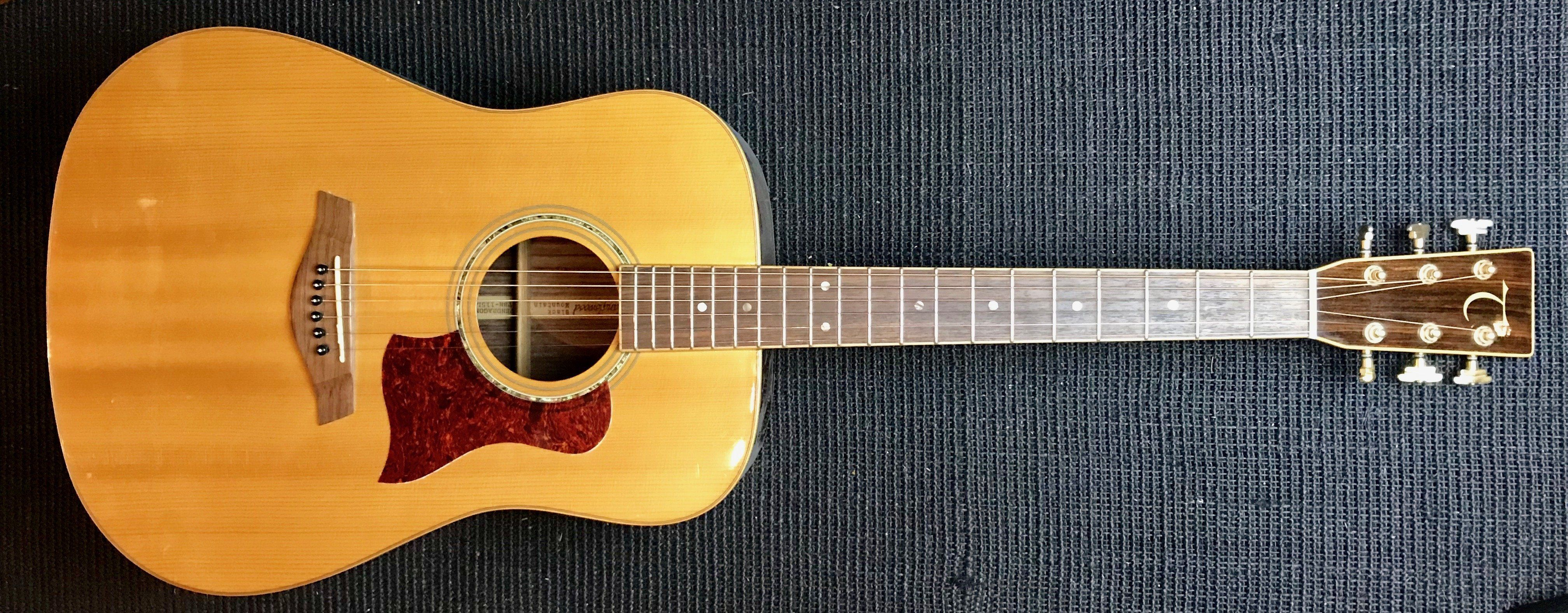 Tanglewood Black Mountain Acoustic Guitar Used Plus Over 100 Added Value Inc Pro Setup Certificate More In 2020 Guitar Black Mountain Acoustic Guitar