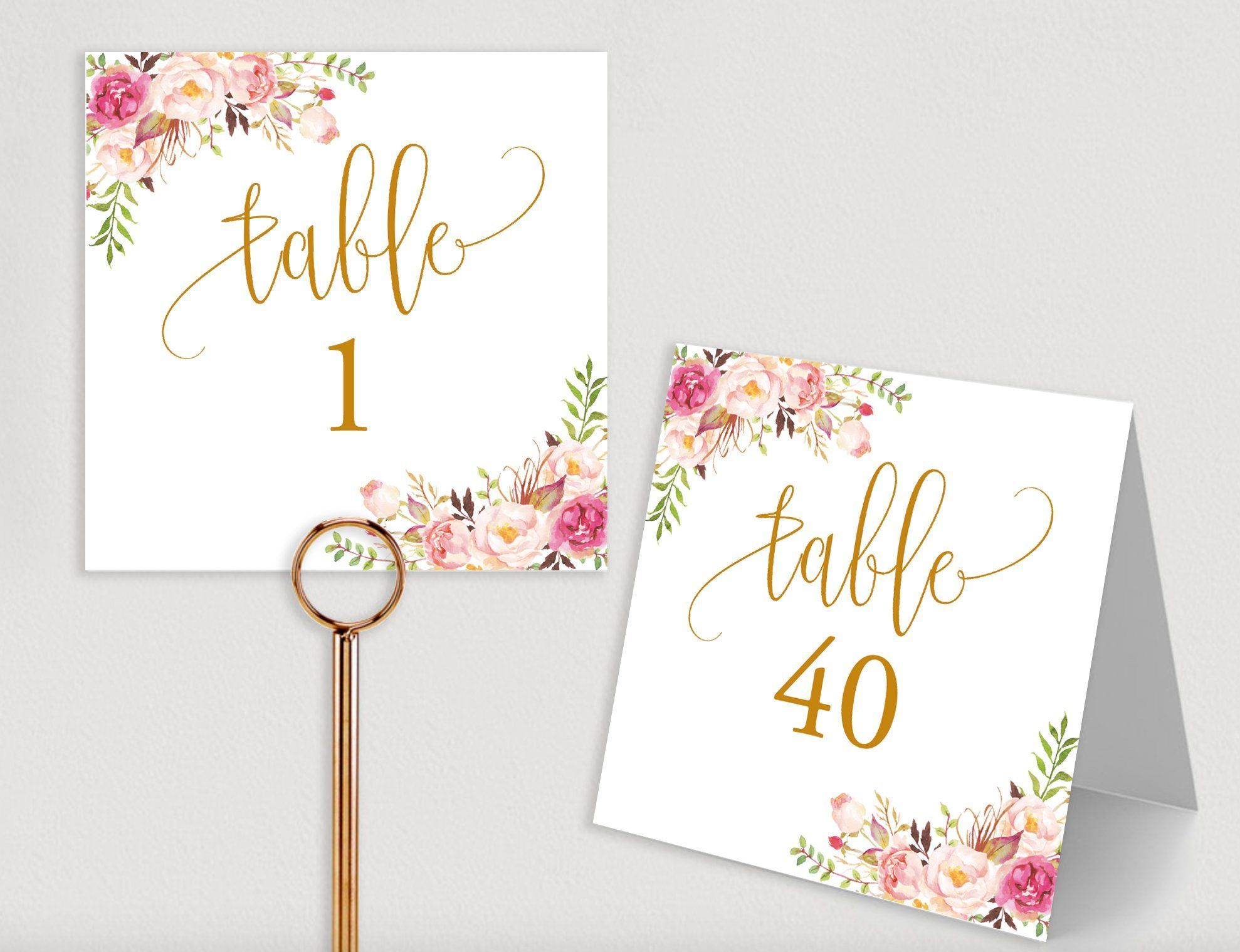 Seating Chart Template, Table Numbers, Rustic template