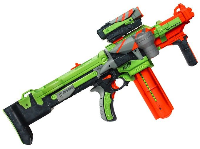 Nerf Vortex Nitron is one of the new nerf guns of the nerf vortex lineup.  Find nerf guns for nerf games and nerf guns for sale.