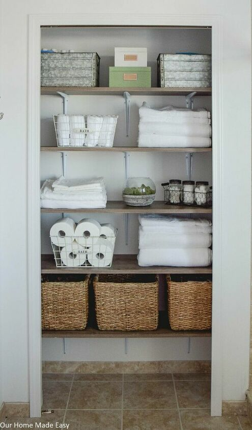 Ordentliche Moglichkeiten Ihren Badezimmerschrank Aufzupeppen In 2020 Badschrank Wascheschrank Organisation Schrank Regale