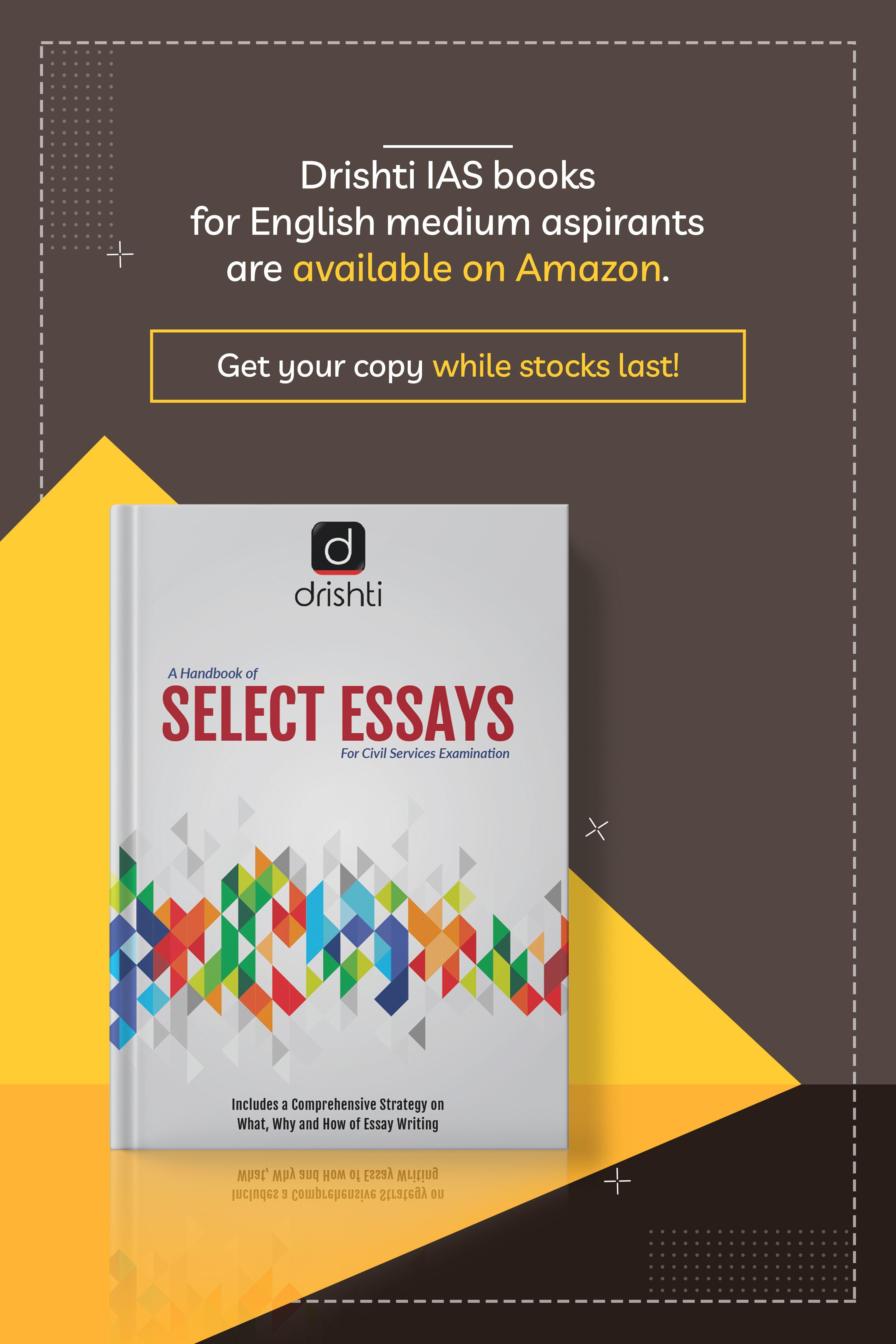 Select Essay For Upsc Civil Service Examination Ia Book Writing