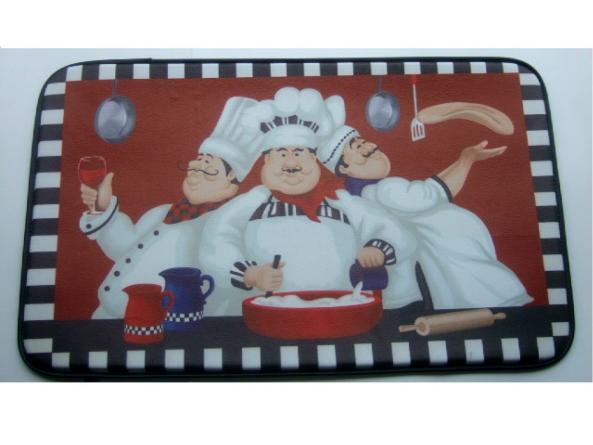 Italian Fat Chefs Kitchen Rug Comfort Mat I\'ve had a mat like this ...