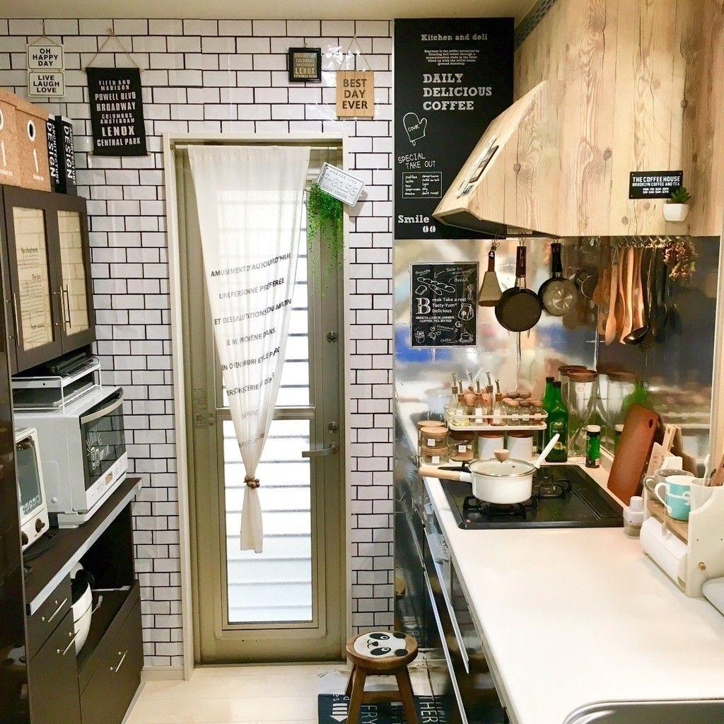カフェ風キッチンdiy 完結編 レンジフードのリメイクシートの貼り方