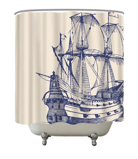 Need Something To Make Your Bathroom Stand Out Add A Custom Shower Curtain Little More Style Home These Also GREAT