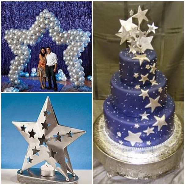 simple quinceanera ideas - Google Search | Starry Night 15 ...