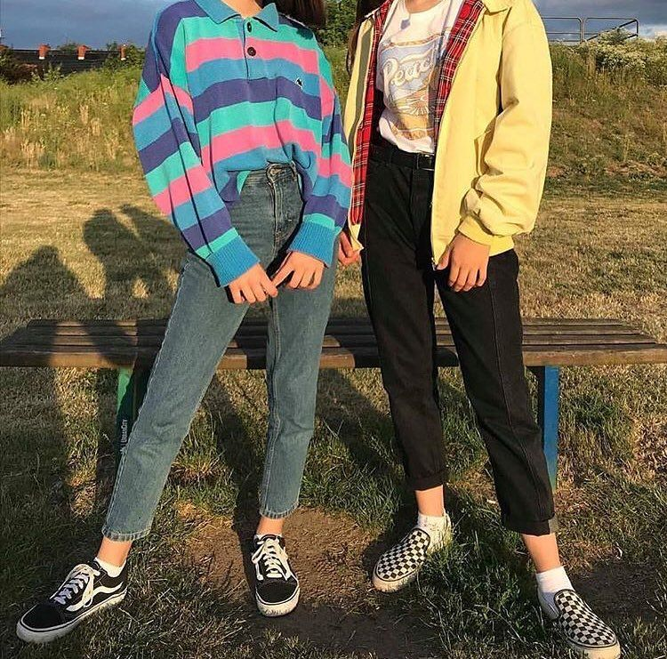 Aesthetics On Instagram Right Or Left Retro Outfits Vintage Outfits Clothes