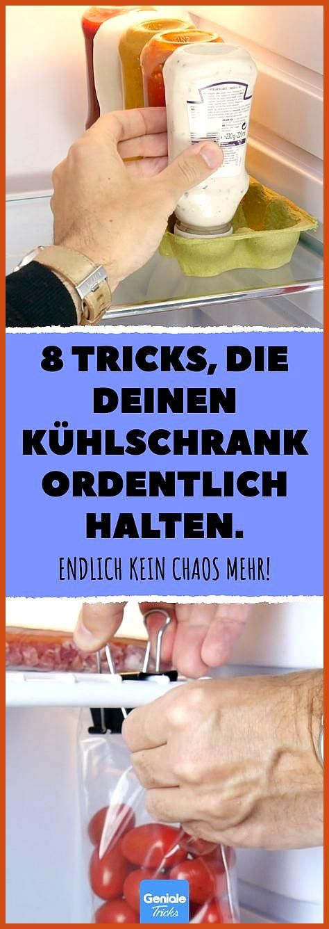 8 tricks that keep your fridge neat As well as the co  8 tricks that keep your fridge neat The roommates are happy too fridge Informations About 8 Tricks die deinen K&uum...
