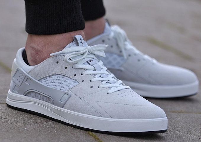 "Nike SB Koston Huarache ""Pure Platinum""  29937a419"