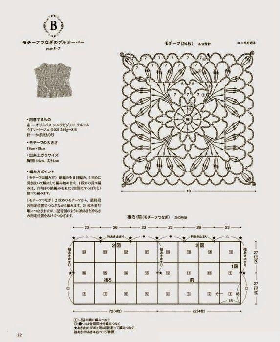 Crochê x tricô: Belas idéias em crochê