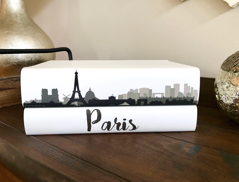 Paris Decorative Book Set City Skyline Books Custom Coffee Table Book London Tokyo Book Book Decor Fashion Design Book Lover Book Decor Fashion Design Books Book Set [ 2292 x 3000 Pixel ]