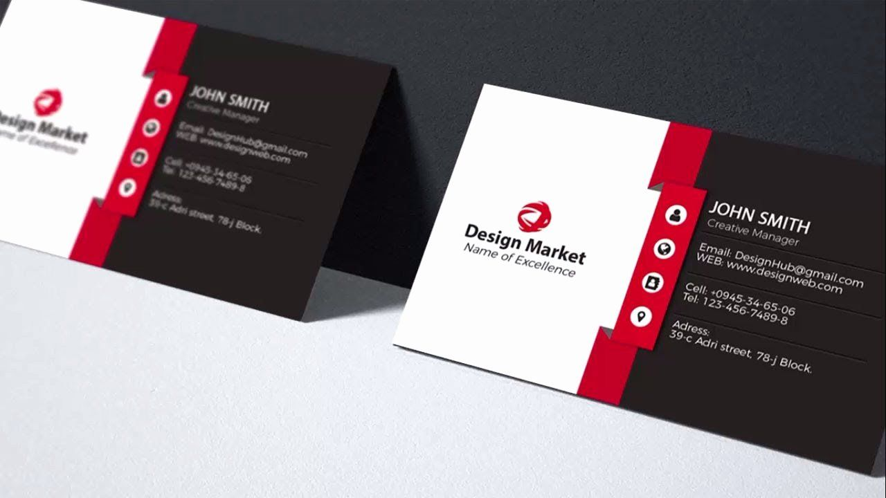 Simple Business Card Design Beautiful Clean And Simple Business Card Ideas And Examples Design Business Card Design Simple Name Card Design Business Card Maker