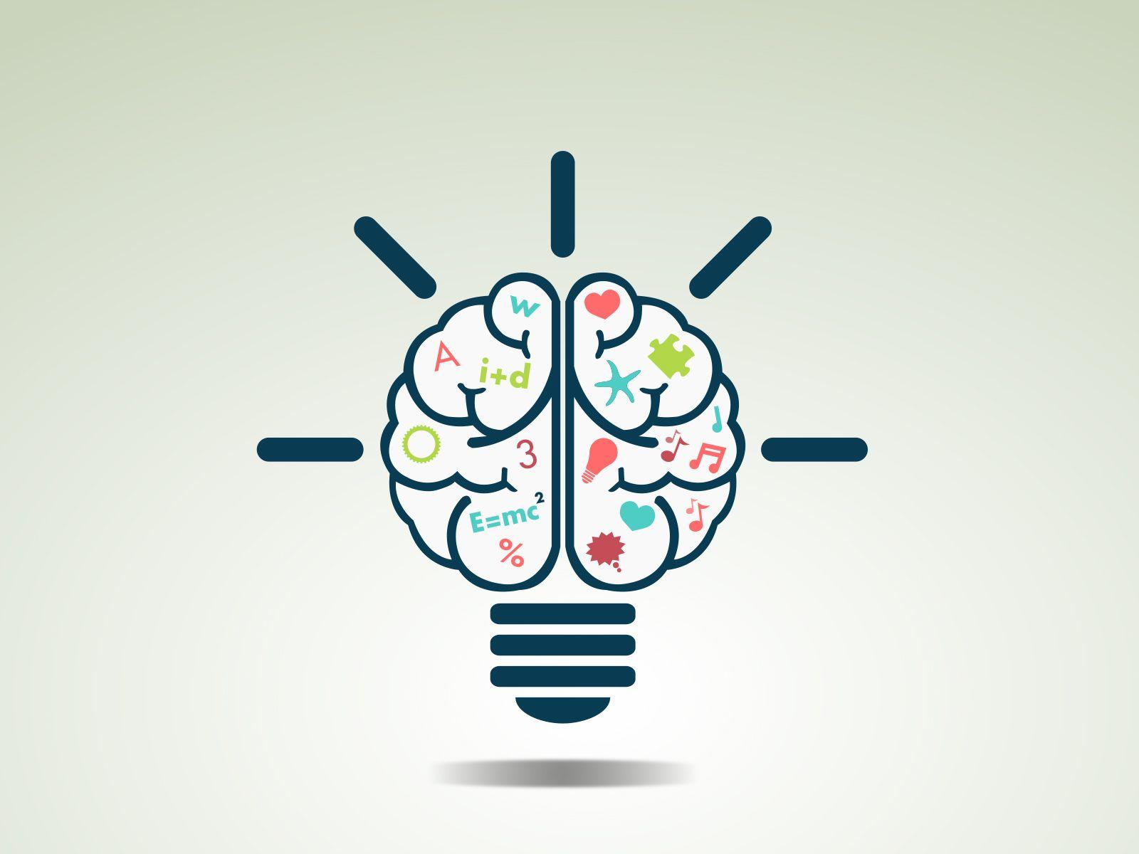 creative brain idea ppt backgrounds