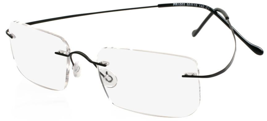 These featherweight spectacles have arms that resemble a thin ribbon ...